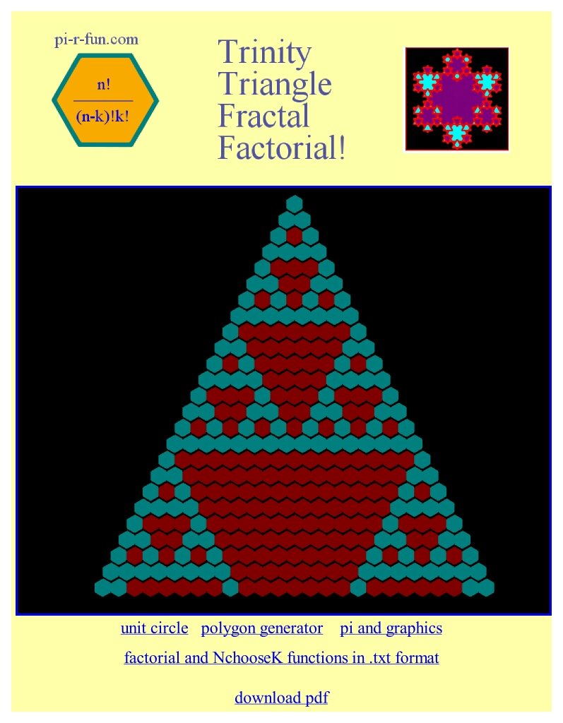 fractal Pascal triangle2
